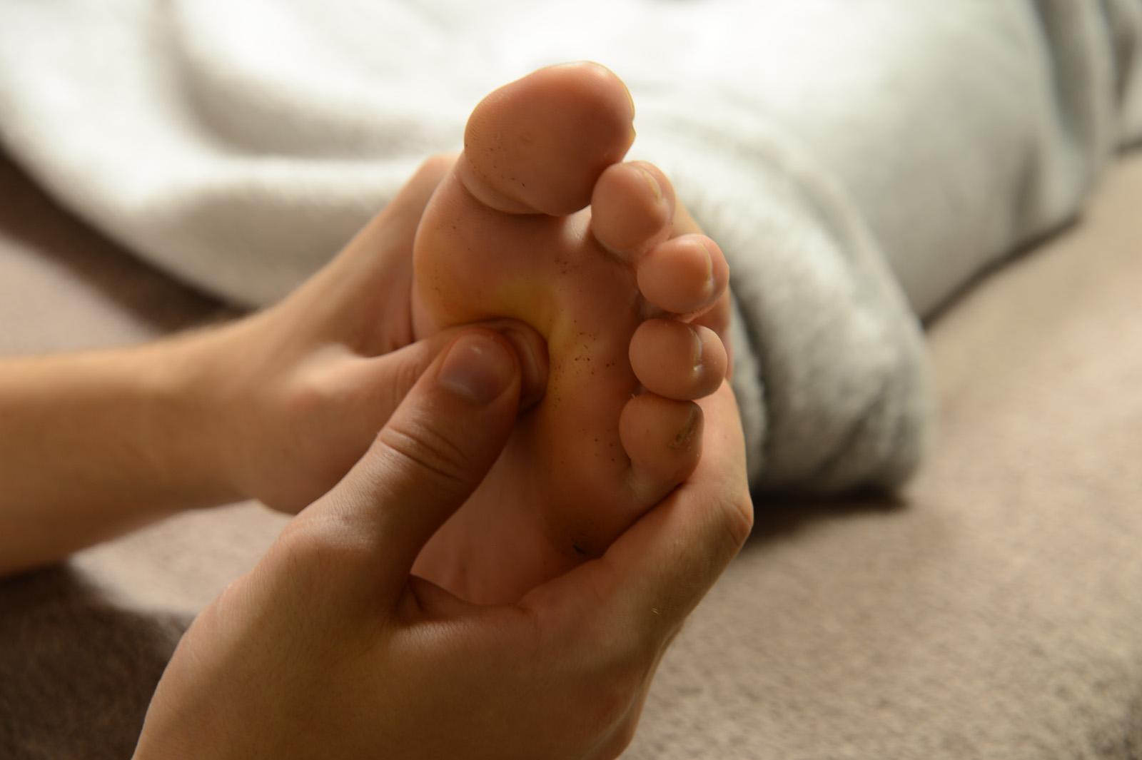 massage pieds - Du Bon Au Bien